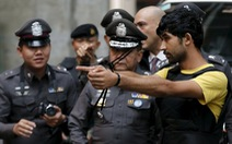 Nghi phạm đánh bom đền Erawan dựng lại hành vi gây án
