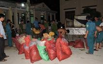 Bắt ôtô chở gần 1 tấn nghi thuốc nổ ra đảo Lý Sơn