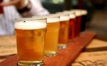 Sản xuất bia rượu giảm dần