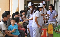 Bệnh nhi Đắk Lắktăng đột biến, bệnh viện quá tải