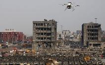 Một tháng sau vụ nổ,cảng Thiên Tân vẫn như bãi chiến trường