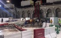 Cần cẩu đổ ập xuống Nhà thờ Hồi giáo Grand, 107 người chết