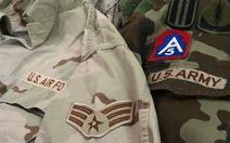 Cho phép sản xuất quân phục cho quân đội nước ngoài