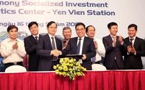 Ký kết dự án xã hội hóa hạ tầng đường sắt đầu tiên