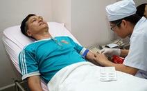Vẫn thiếu máu nhóm máu A
