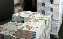 Phát hiện nhiều sách in vượt số lượng
