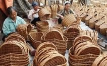 Hà Nội nhọc nhằn tìm đầu ra cho các sản phẩm mây tre đan