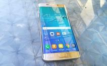 Cận cảnh smartphone màn hình cong Galaxy S6 Edge Plus