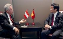 Áo, Chile cam kết đẩy mạnh hợp tác với Việt Nam