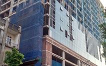 Hà Nội kiểm tra tòa nhà cao tầng gần quảng trường Ba Đình