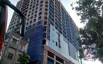 Cao ốc cạnh quảng trường Ba Đình đã xâyvượt phép 16m