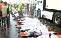 Còn hơn 600 người mất tích sau giẫm đạp gần thánh địa Mecca