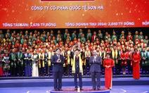 """Tôn vinh 200 thương hiệu """"Sao vàng đất Việt"""""""