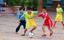 Niềm vui bóng đá học đường