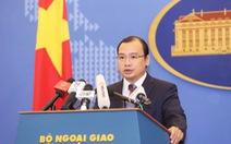 Yêu cầu Thái Lan cam kết không dùng vũ lực với ngư dân Việt Nam