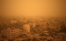 Chiến tranh cũng là tác nhân gây bão cát bất thường ở Trung Đông