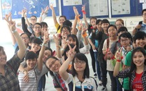 Hành trình tạo khí thế cho sinh viên mới