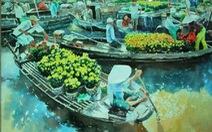 Triển lãm tranh màu nước quốc tế tại TP.HCM