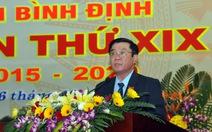ÔngNguyễn Thanh Tùng làm Bí thư tỉnh ủyBình Định
