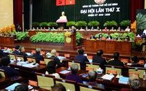Bầu 69 người vào Ban chấp hành Đảng bộ TP.HCM khóa X