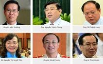 15 Ủy viên Ban thường vụ Thành Ủy TP. HCM khóa X