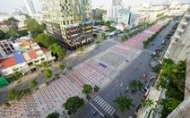 2.000 người đồng diễn mừng Đại hội Đảng TP.HCMthành công
