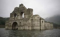 Hạn hán,lộ ra nhà thờ 400 năm dưới hồ chứaMexico