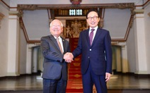 Cựu tổng thống Hàn Quốc Lee Myung Bak thăm TP.HCM