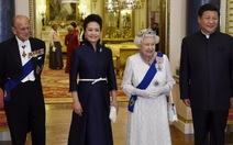 Nữ hoàng Anh mở quốc yến đãi ông Tập Cận Bình