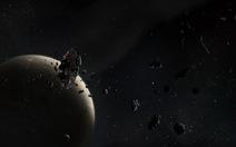 Rác vũ trụ bí ẩn đang lao xuống Trái đất