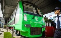 Trưng bày tàu mẫu đường sắt Cát Linh - Hà Đông một tháng