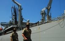 Tàu hải quân Úc lần đầu cập cảng Tiên Sa