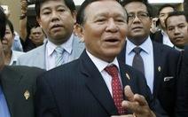 Phó chủ tịch đảng đối lập Campuchia mất chức tại Quốc hội