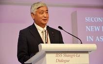 Ngày 5-11, Bộ trưởng Quốc phòng Nhật thăm quân cảng Cam Ranh