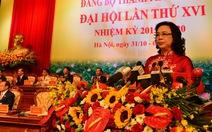Hà Nội bầu 4 phó bí thư Thành ủy