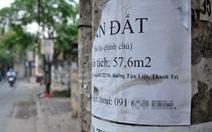 Đất thổ cư ở Hà Nội nhiều khu vực giảm giá