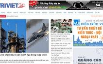 Tạm dừng hoạt động đối với trang tin Trí Việt 24h