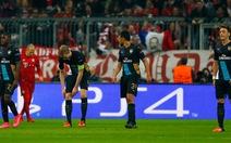 Thua đậm Bayern Munich, Arsenal đứng trước nguy cơ bị loại