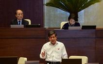 """Bộ trưởng Bùi Quang Vinh: """"Tôi không chỉ đạo bóp méo số liệu"""""""