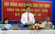Ông Phạm Văn Tân làm chủ tịch UBND tỉnh Tây Ninh