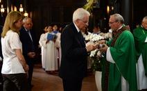 Tổng thống Ý đi lễ ở nhà nguyện hơn 200 tuổi tại Sài Gòn
