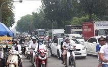 Cấm ôtô buổi sáng đểgiảm kẹt xe đường Hoàng Minh Giám