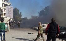 Thành trì Tổng thốngSyria trúngrocket, 23 người chết