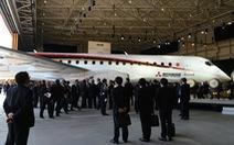 Nhật bay thử thành công máy bay tự sản xuất