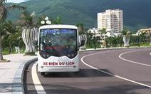 Đưa xe điện vào phục vụ du lịch ở Quy Nhơn