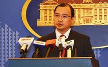 Việt Nam phản bác phát ngôn củaông Tập Cận Bình tại Singapore