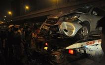 Ôtô đuổi nhau gây tai nạn, 1 người chết