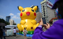 Pikachu khổng lồ khuấy động Lễ hội Nhật Bản
