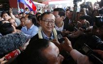 Campuchia lập ủy ban bắt giữ thủ lĩnh đảng đối lập