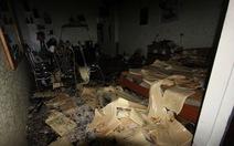 Ngáo đá, thanh niên đốt nhà trong đêm náo loạn Hải Phòng